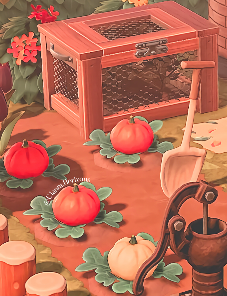 Animal Crossing New Horizons Pumpkin Patch
