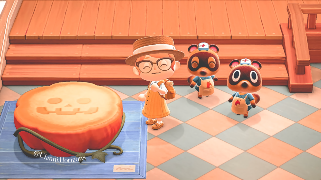 Animal Crossing New Horizons Pumpkin Items